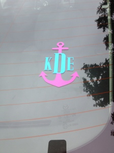 Made by: Palmetto Monograms! So adorable!
