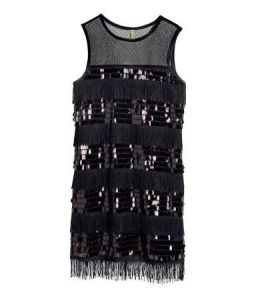 H&M: Sequined Dress: $34.95