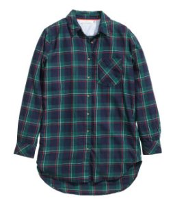 Plaid Flannel Shirt, H&M: $24.95